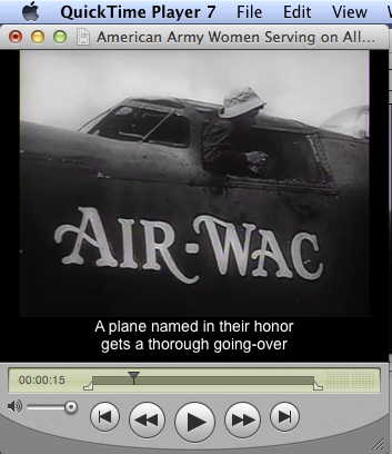movie with captions as displayed on a non-retina display monitor